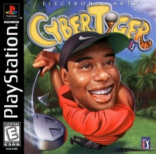 CyberTiger Sony PlayStation cover artwork