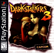 Darkstalkers 3 - Jedah's Damnation Sony PlayStation cover artwork