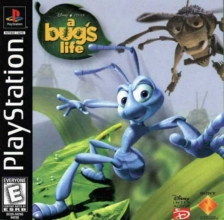 A Bug's Life Sony PlayStation cover artwork