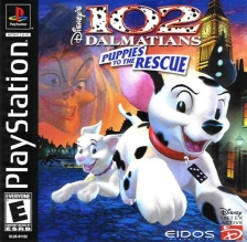 102 Dalmatians - Puppies to the Rescue Sony PlayStation cover artwork