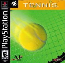 Tennis Sony PlayStation cover artwork