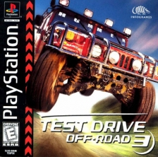 Test Drive Off-Road 3 Sony PlayStation cover artwork