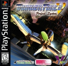 Thunder Force V - Perfect System Sony PlayStation cover artwork
