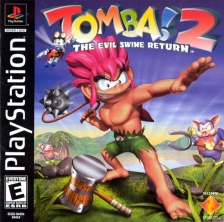 Tomba ! 2 - The Evil Swine Return Sony PlayStation cover artwork