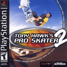 Tony Hawk's Pro Skater 2 Sony PlayStation cover artwork