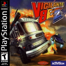 Vigilante 8 - 2nd Offense Sony PlayStation cover artwork