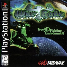 War Gods Sony PlayStation cover artwork