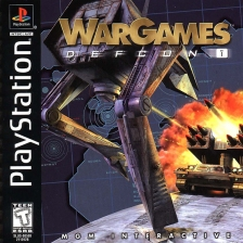 WarGames - Defcon 1 Sony PlayStation cover artwork