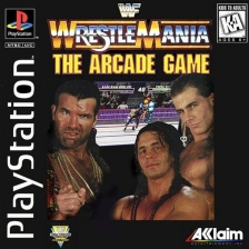 WWF WrestleMania - The Arcade Game Sony PlayStation cover artwork