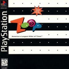 Zoop - America's Largest Killer of Time !  Sony PlayStation cover artwork