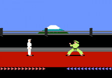 Karateka ingame screenshot