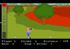 Mean 18 Ultimate Golf ingame screenshot