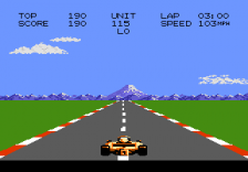 Pole Position II ingame screenshot
