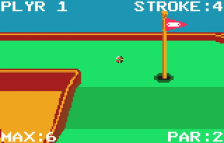 Krazy Ace Minature Golf ingame screenshot