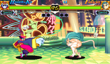 Night Warriors : Darkstalkers' Revenge ingame screenshot