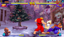 Street Fighter III ingame screenshot