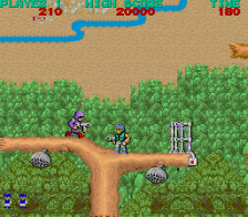 Bionic Commando ingame screenshot