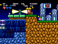 B.C. Kid : Bonk's Adventure ingame screenshot