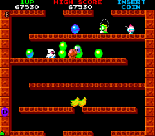 Bubble Bobble ingame screenshot