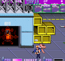 Double Dragon 2 : The Revenge ingame screenshot