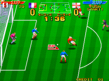 Dream Soccer '94 ingame screenshot