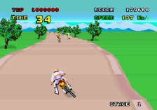 Enduro Racer ingame screenshot