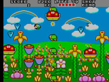 Fantasy Zone II : The Tears of Opa-Opa ingame screenshot