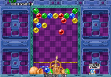 Puzzle Bobble ingame screenshot