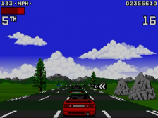 Lotus Turbo Challenge 2 ingame screenshot