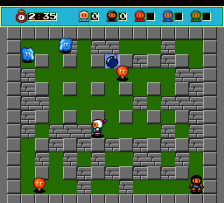 Bomberman - Users Battle ingame screenshot