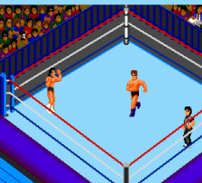 Fire Pro Wrestling 2 - 2nd Bout ingame screenshot