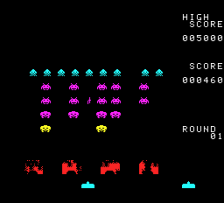 Space Invaders - Fukkatsu no Hi ingame screenshot