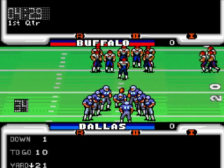 John Madden Duo CD Football ingame screenshot