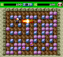 Bomberman '93 ingame screenshot