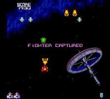 Galaga '90 ingame screenshot