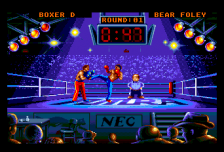 Panza Kick Boxing ingame screenshot