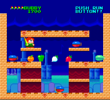 Parasol Stars - The Story of Bubble Bobble III ingame screenshot