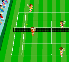 World Court Tennis ingame screenshot
