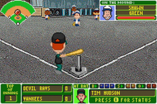 Backyard Baseball ingame screenshot