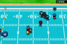 Backyard Football ingame screenshot