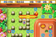 Bomberman Max 2 - Blue Advance ingame screenshot