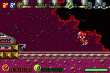 Butt-Ugly Martians - B.K.M. Battles ingame screenshot