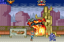 Contra Advance - The Alien Wars EX ingame screenshot