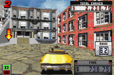 Crazy Taxi - Catch a Ride ingame screenshot