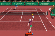 Davis Cup ingame screenshot