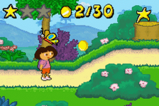 Dora the Explorer - The Search for the Pirate Pig's Treasure ingame screenshot