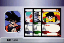 Dragon Ball Z - Collectible Card Game ingame screenshot