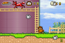 Garfield and His Nine Lives ingame screenshot