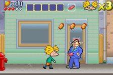Hey Arnold! - The Movie ingame screenshot