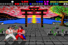International Karate Plus ingame screenshot